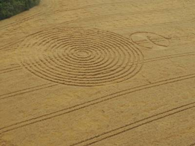 Two crop circles appear in Brazilian town on the same day (Video)