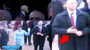 Reptilian Shapeshifter Secret Service Agent Spotted At Trump Inauguration?