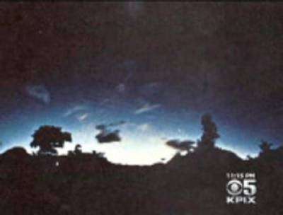 Some Bay Area Residents Report Mysterious Flashes In The Sky During Napa Quake