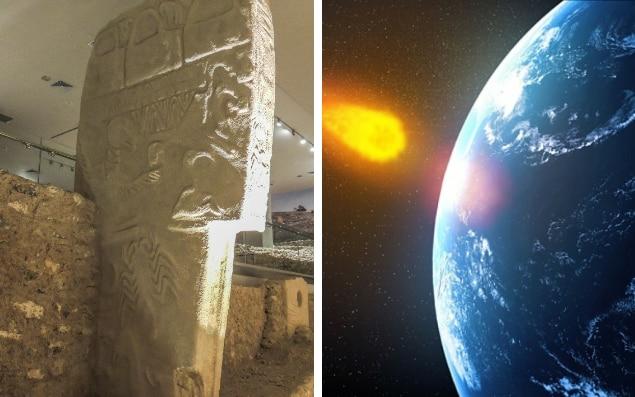 На рисунках из Гёбекли-Тепе возможно показано падение кометы