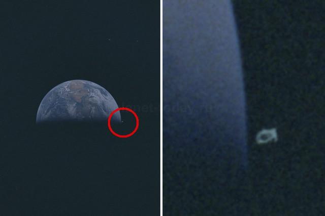 Уфолог обнаружил на фотографии миссии «Аполлон-10» корабль пришельцев