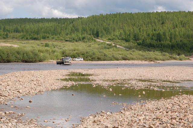Озеро Баунт в Баунтовском районе Бурятии