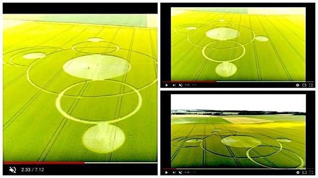 Круги на полях образовались во владениях фермера