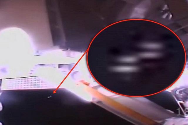 Два НЛО появились возле МКС во время выхода астронавтов NASA в открытый космос