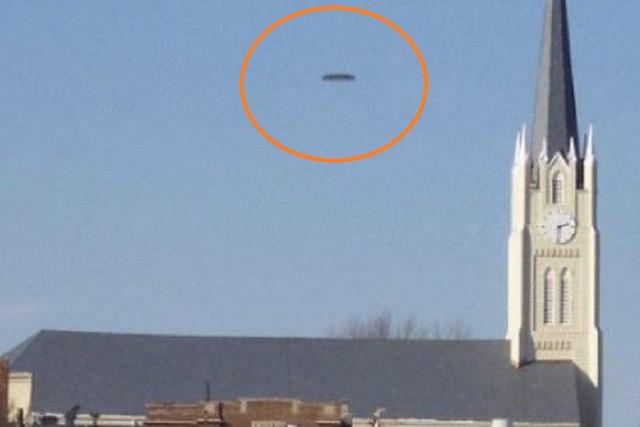 Три офицера полиции из Хантингтона наблюдали за НЛО-трансформером