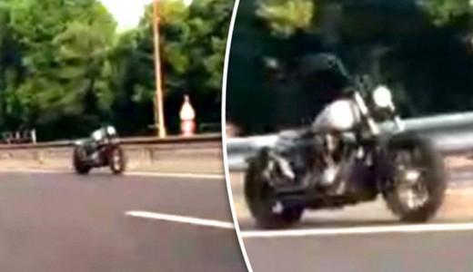 Разгадана тайна «призрачного» мотоциклиста во Франции