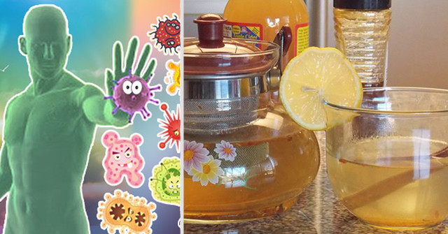 Укрепи иммунитет! Используй этот напиток для крепкого здоровья!