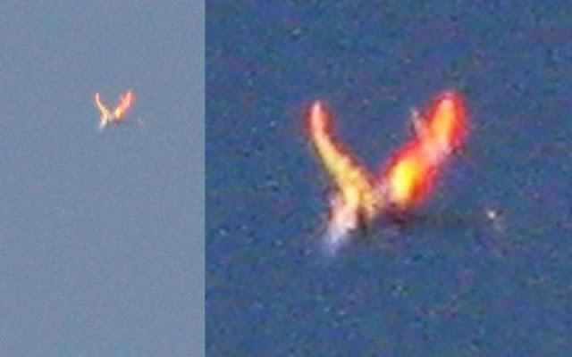 Огненный Феникс над Колорадо