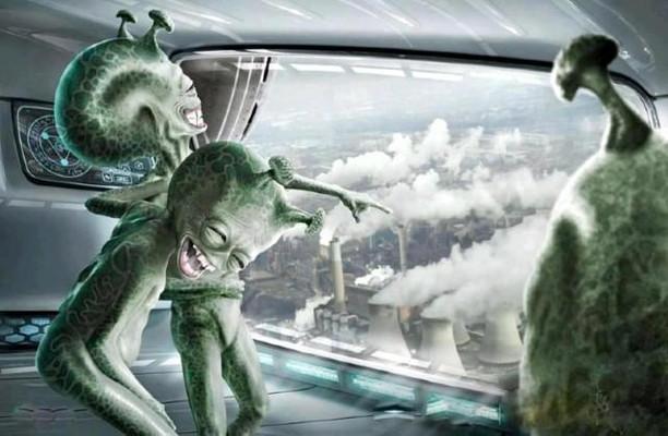 Звездная гниль: Отходы НЛО или внеземные формы жизни