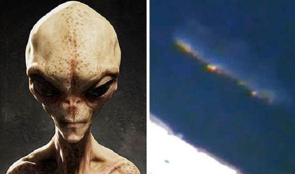 Камеры МКС засняли гигантский корабль пришельцев
