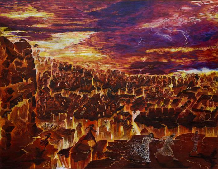 Содом и Гоморра возможно погибли из-за падения астероида