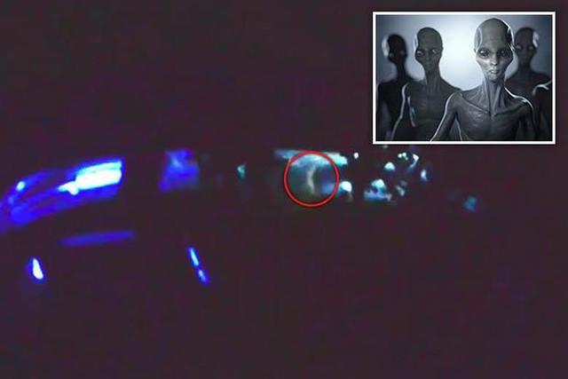 Уфологи запечатлели на видео пришельца в космическом корабле