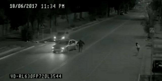 Призрак отца спас девочку на дороге