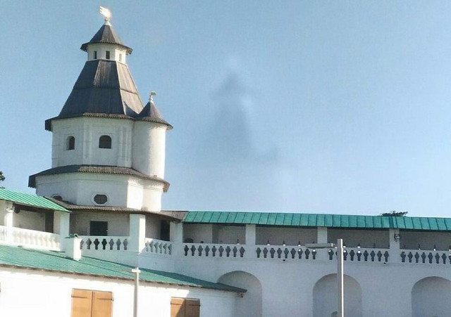 Призрачный храм сфотографировали в Московской области