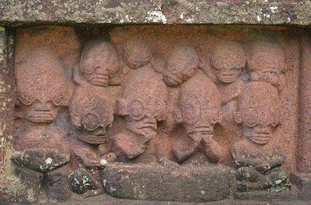 Тайны острова Нуку-Хива: Моделями для загадочных статуй были внеземные рептилоиды