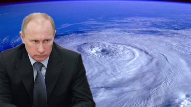 Президент Путин: серия ураганов, атакующих США, генерирована искусственно. У России есть доказательства