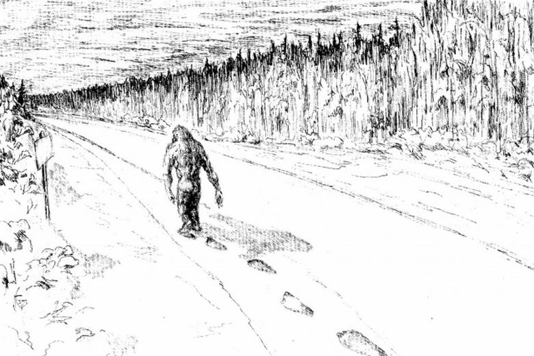 Как снежный человек лишил лесничего ужина