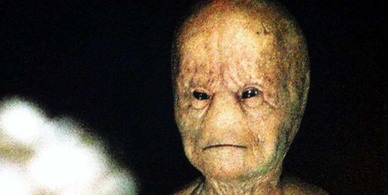 В древней пещере найдено изображение инопланетянина
