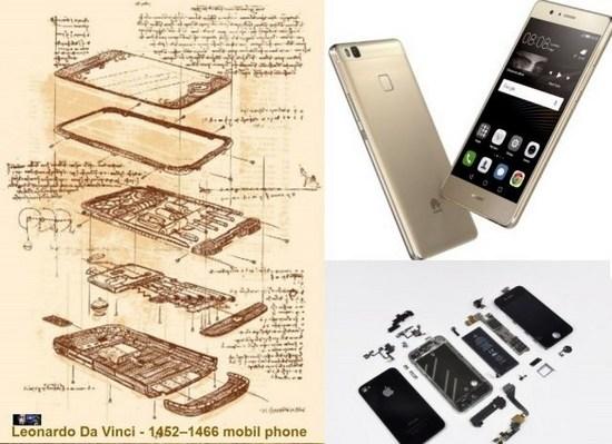 Современный смартфон изобретен еще в XV веке