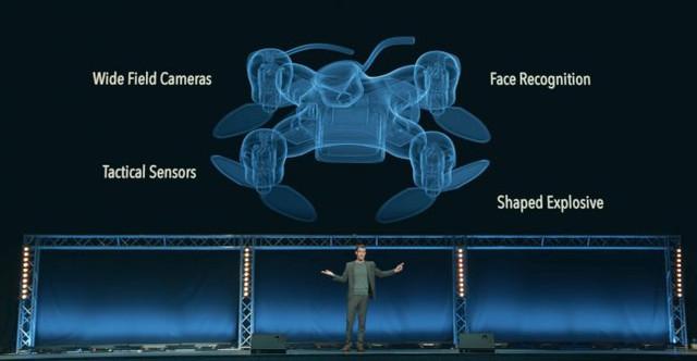 Учёные показали, каким жутким станет умное оружие будущего