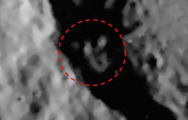 гуманоид, луна, меркурия луны