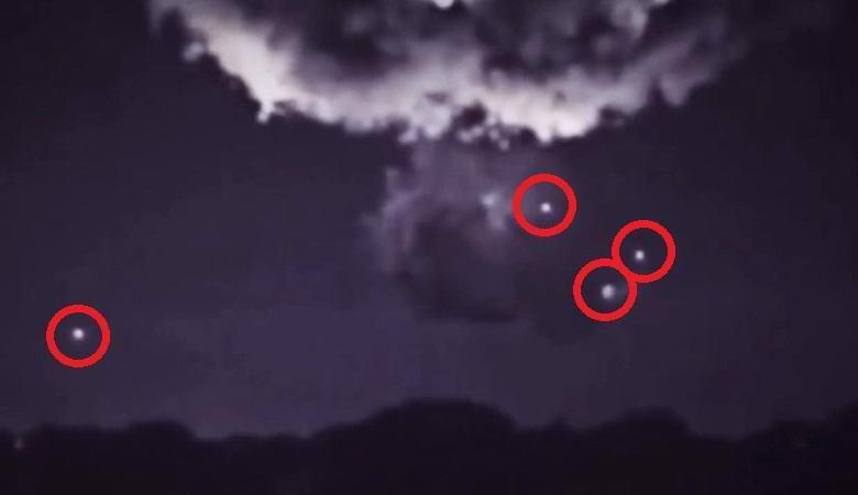 Во время шторма над Сиднеем НЛО выкачивали энергию из грозовой тучи