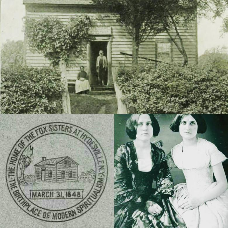 Нечистая сила в Гайдсвиле и Стратфорде или начало массовое увлечение спиритизмом в 19 веке