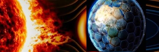 Гигантский космический магнитный щит защитит Землю от воздействия солнечных вспышек