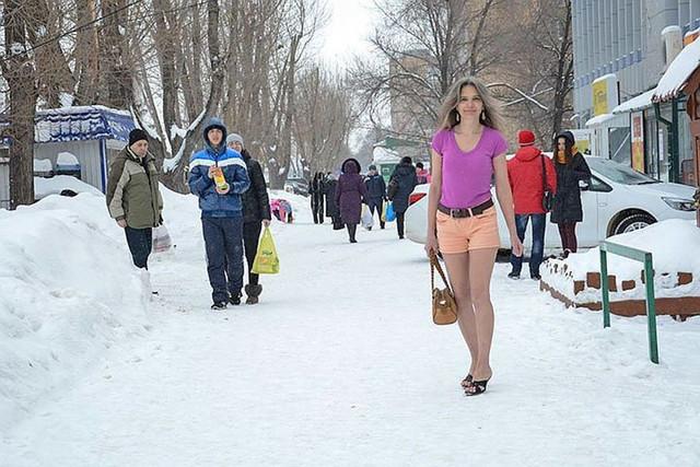 Снегурочка из города Тольятти