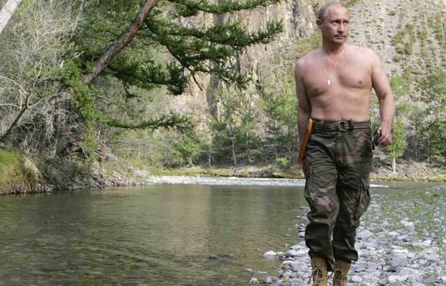 Путин повстречал когда-то семью йети