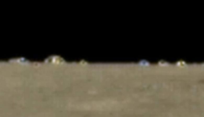 Уфолог нашел городок инопланетян на Луне