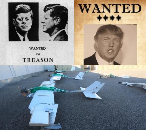 Глубинное Государство планирует убийство президента в теракте по типу 9/11