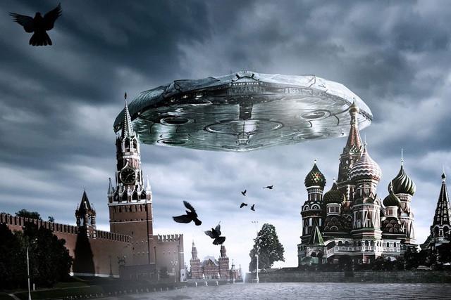 Над московским Кремлем летал НЛО