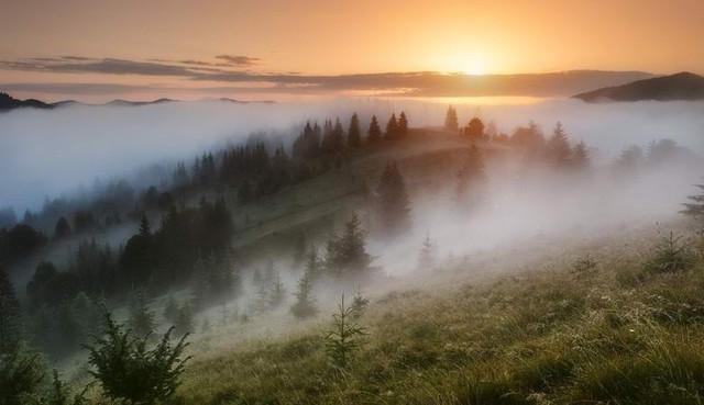 В Карпатах сфотографировали знаменитый брокенский призрак