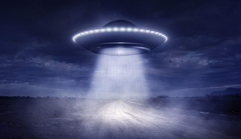 Над «Зоной 51» запечатлели на видео странные огни