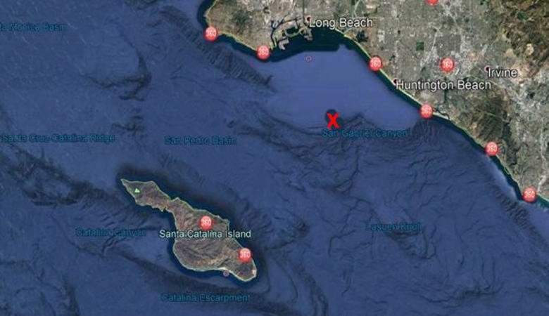 Загадочный самолет искал подводную базу НЛО возле Калифорнии