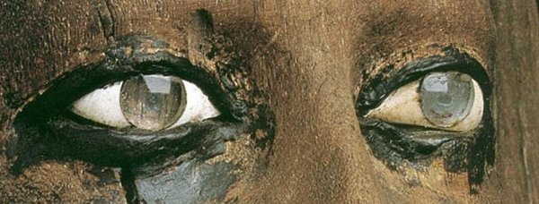 Хрустальные глаза Египетских статуй
