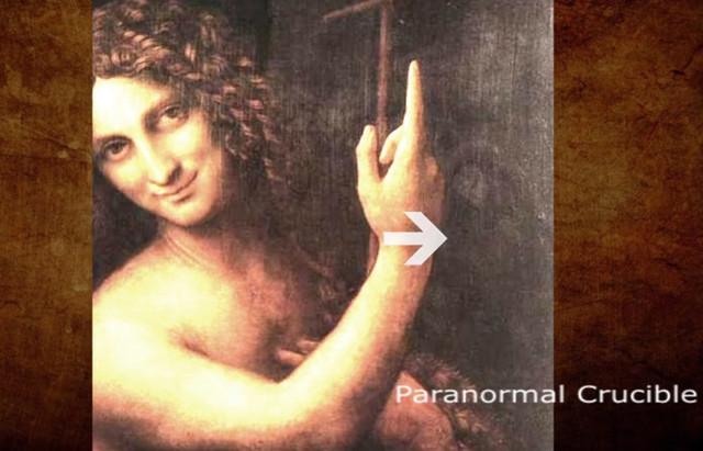 Леонардо да Винчи, инопланетянин, пришелец