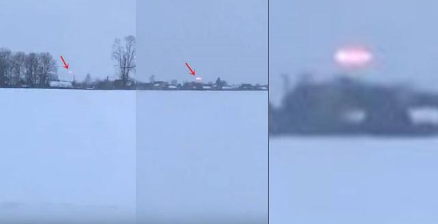 В Беларуси заметили полет НЛО