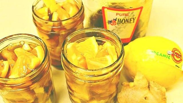 Как приготовить медово-имбирный лимонад от простуды и воспаления горла!