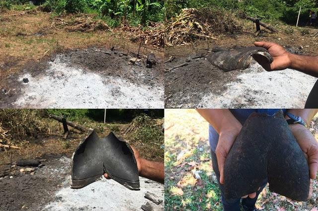 На Бразилию с неба упал загадочный объект
