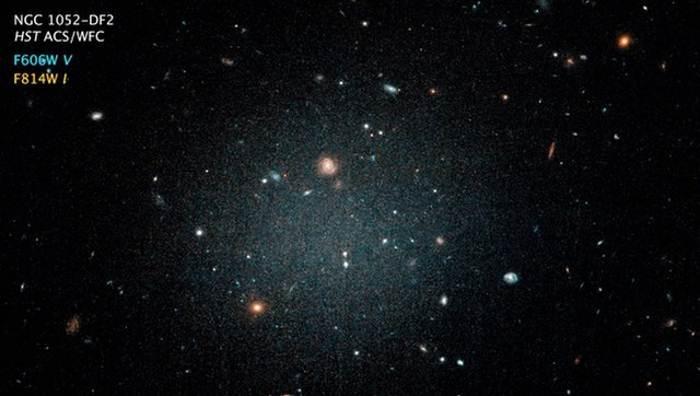 Астрономы открыли невозможную галактику