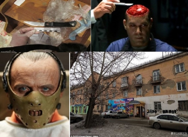Каннибал в Красноярске съел горло и сердце жертвы