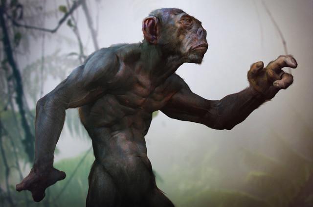 Охота на обезьяноподобное существо в Иллинойсе в 1940-х годах