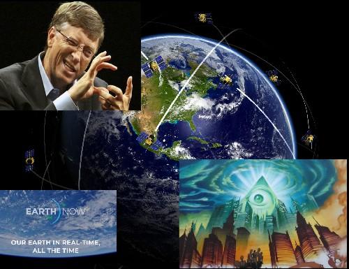 Билл Гейтс запускает космическую программу по тотальной слежке за всей Планетой