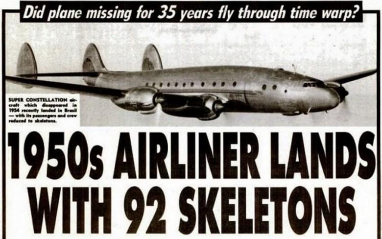 Затерявшийся во времени самолет