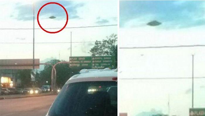 НЛО / UFO пролетел над Аргентиной