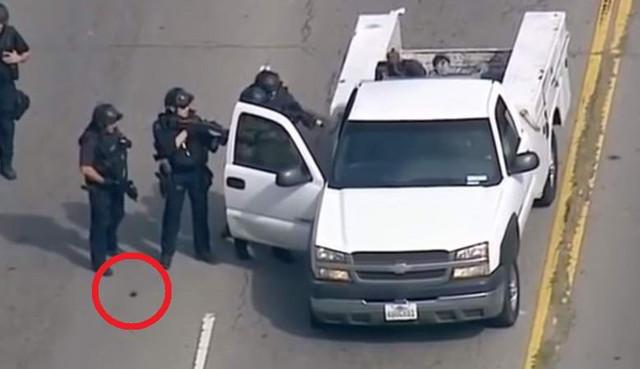 полицейский, объект, видео
