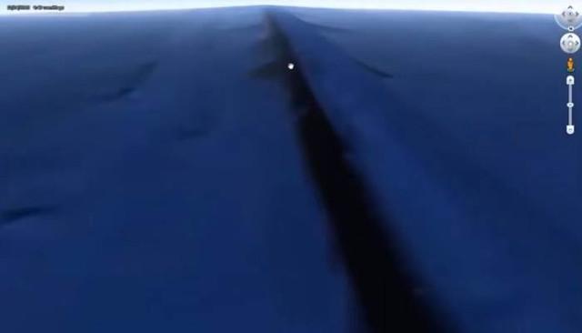 Подводная стена, google earth, в стране и мире, видео, Конспирология