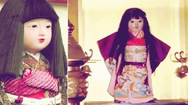 История японской куклы Окику, у которой реально растут волосы